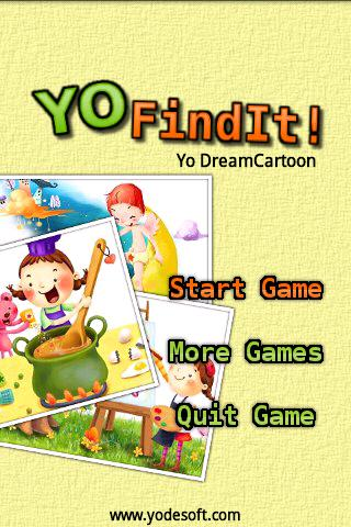 Yo Find It - Dream Cartoon- screenshot
