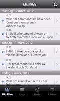 Screenshot of Krisinformation.se