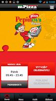 Screenshot of Pepinova pizza