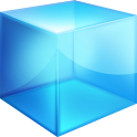 Blue Cube Theme GO Launcher EX icon