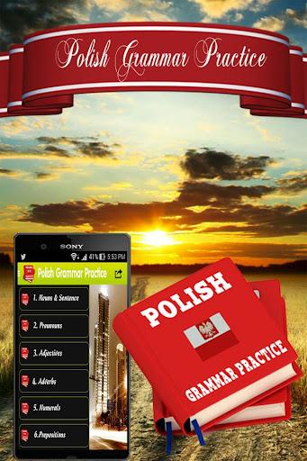 波蘭語法練習。