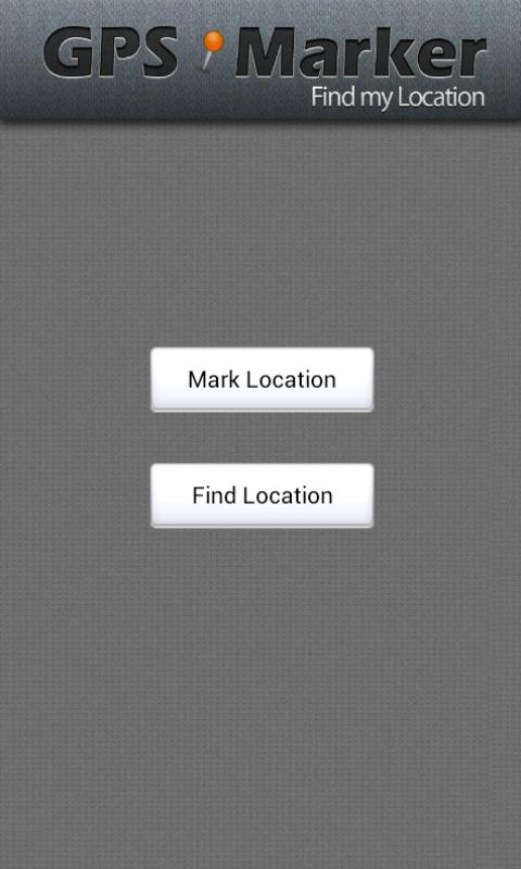 GPS Marker- screenshot