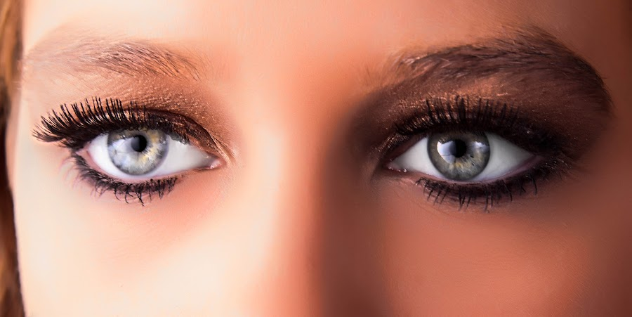 Eyes by Jeff Frazell - People Body Parts ( shadow, lashes, close-up, eyes )