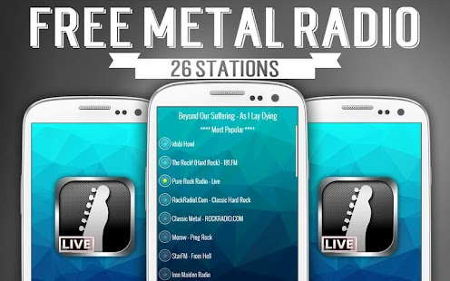 Free Metal Radio - screenshot thumbnail