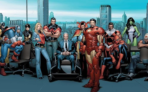 玩漫畫App|American superheroes免費|APP試玩