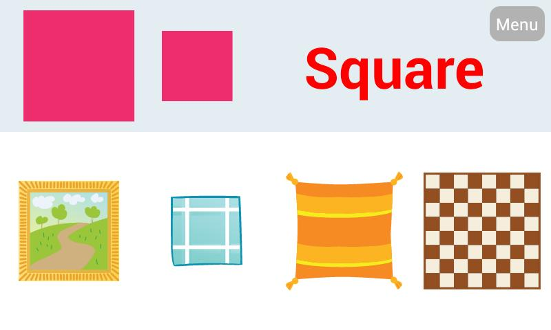 Free Worksheets » Square Shapes For Kids - Free Math ...