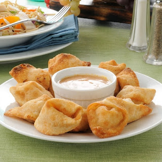 Crispy Crab Rangoon.
