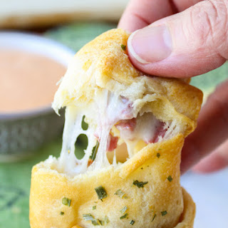 Reuben-Stuffed Crescent Rolls