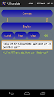 Screenshot of AllTranslate Translator