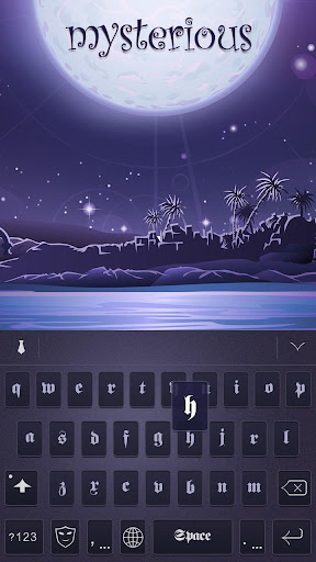 Mysterious Theme for Keyboard