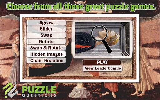 Free Paolo Uccello Puzzles