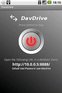 DavDrive - screenshot thumbnail