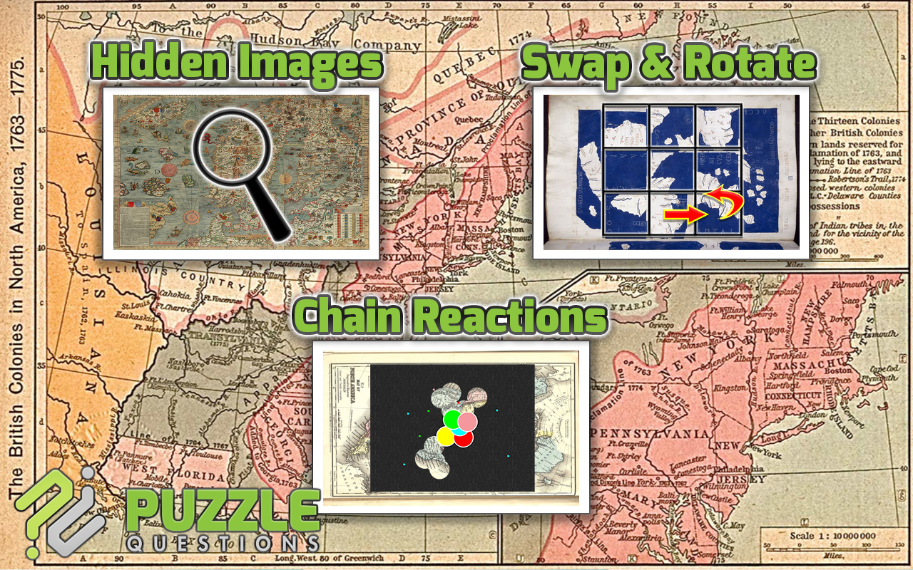 Old Maps Puzzle Games- screenshot