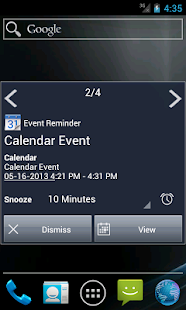 Notify - Xperia Theme - screenshot thumbnail