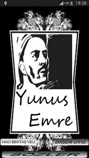 YUNUS EMRE SÖZLERİ
