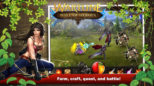 【免費角色扮演App】Wartune: Hall of Heroes-APP點子