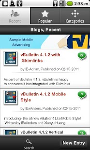 BareBlogg Mobile - screenshot thumbnail