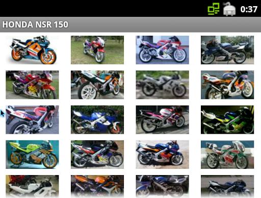 本田NSR150图片