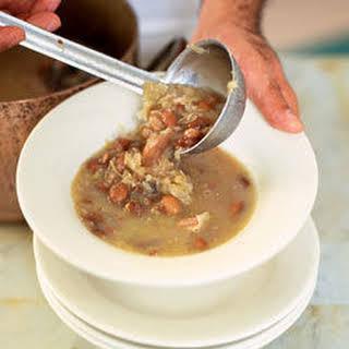 Sauerkraut Bean Soup.