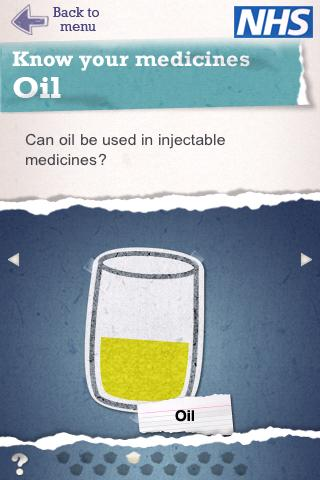 Injectable Medicines- screenshot