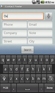 Contact Finder- screenshot thumbnail