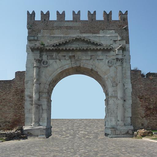 Ariminum tour Rimini Romana LOGO-APP點子