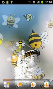 Bee Live Wallpaper - screenshot thumbnail