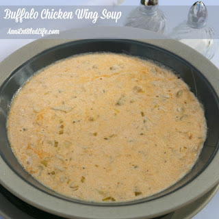 Buffalo Chicken Wing Soup