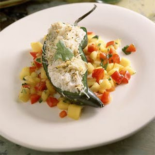 Crab Stuffed Poblano Peppers Recipes.