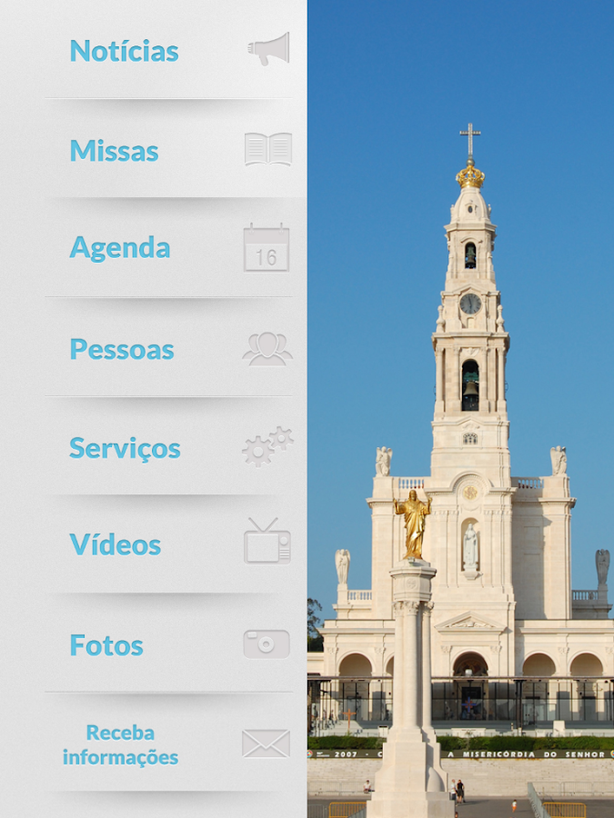 Diocese de Leiria-Fátima - screenshot