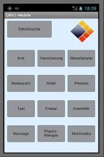 DBVZ das Branchenverzeichnis- screenshot thumbnail