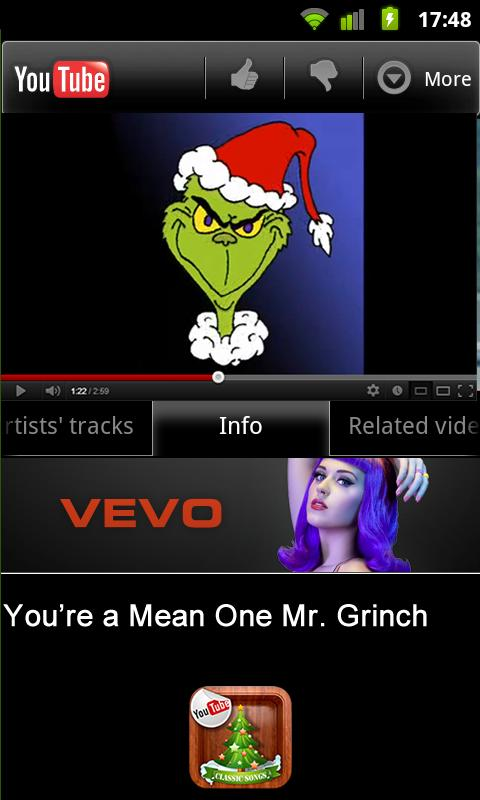 Advent Calendar Christmas Song - screenshot