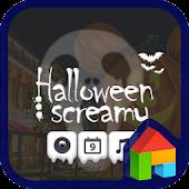 Halloween Screamy dodol theme