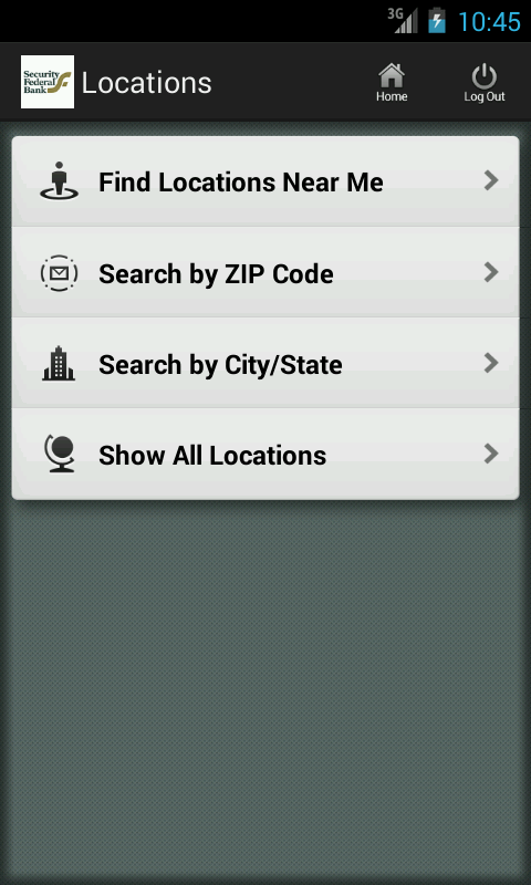 Security Federal Bank Mobile - screenshot