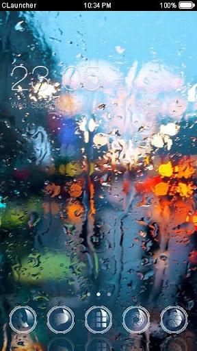 雨窗手機主題——暢遊桌面