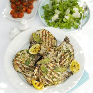 Herb & Lemon Pork Chops Recipe
