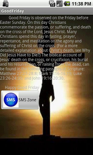 Good Friday SMS Pool