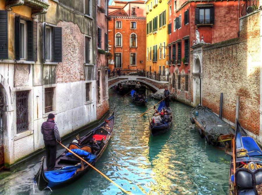 Venice by Cristian Peša - City,  Street & Park  Street Scenes