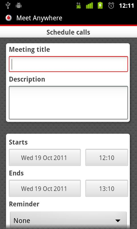 Vodafone Meet Anywhere - screenshot
