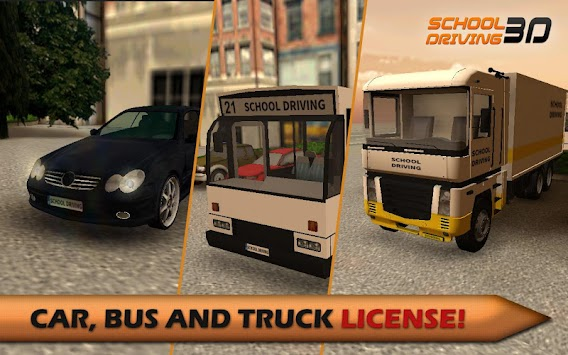School Driving 3D APK screenshot thumbnail 3
