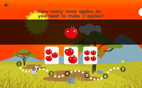 Animal Math Games for Kids XD- screenshot thumbnail