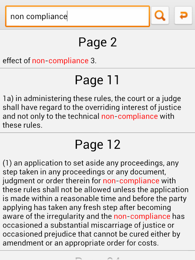 Malaysia Rules of Court 2012- screenshot