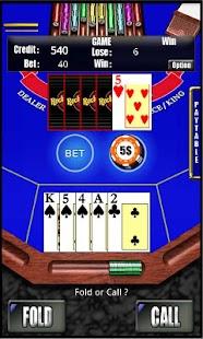 RVG Caribbean Poker- screenshot thumbnail