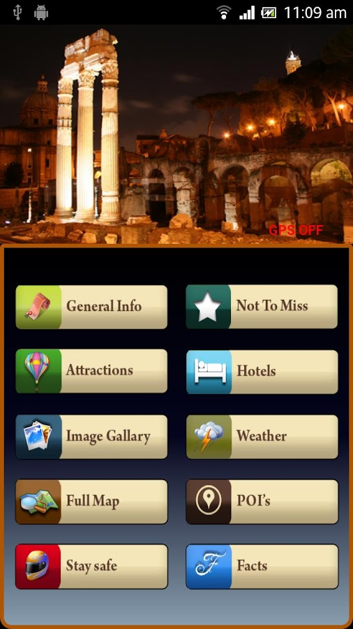 Rome Offline Map Travel Guide - screenshot