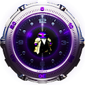purple theme & widgets logo
