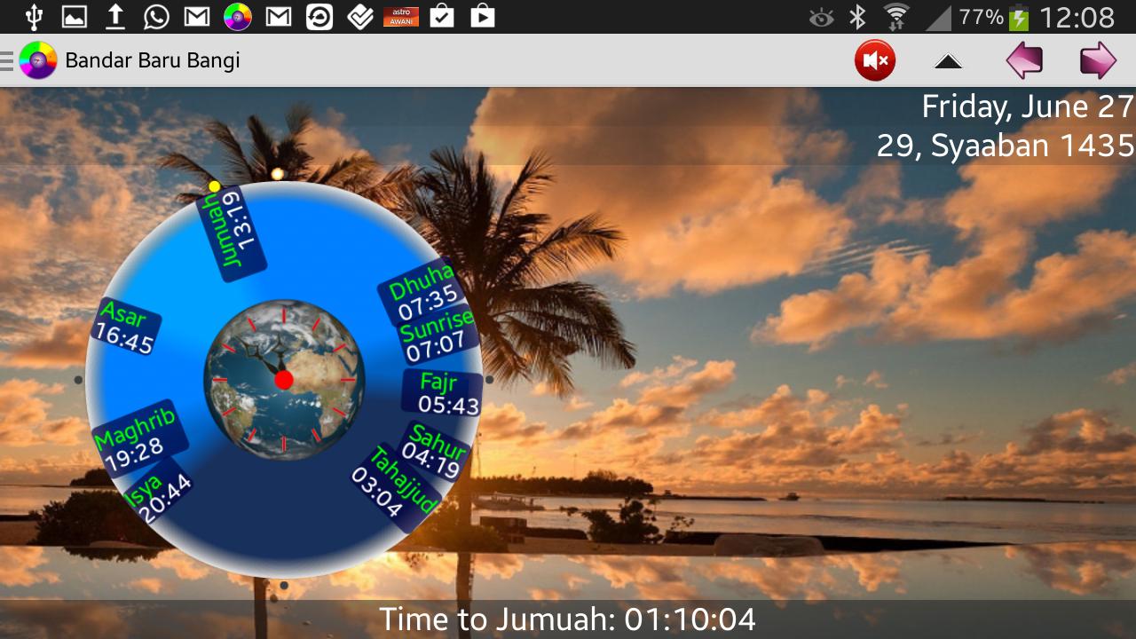 SOFTnet Waktu Solat - screenshot
