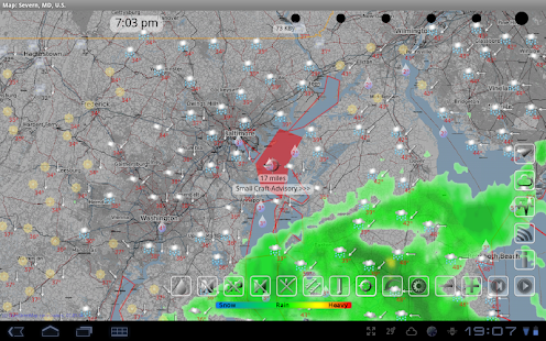 eWeather HD•NOAA Radar•Alerts- screenshot thumbnail