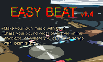 Screenshot of EASY BEAT, make your own song