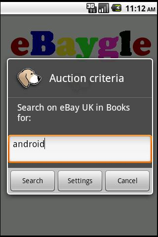 eBaygle - screenshot
