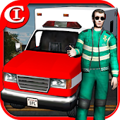 Crazy Ambulance King 3D